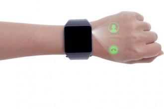 Smartwatch z rzutnikiem