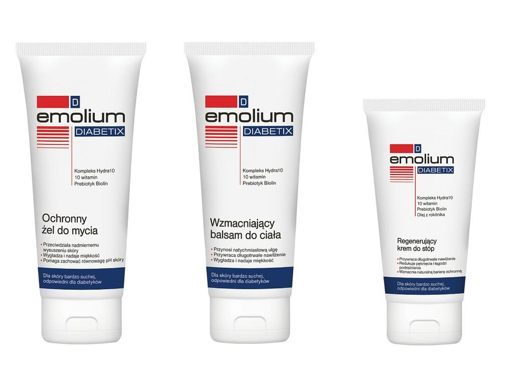 Emolium Diabetix seria dla skóry diabetyków
