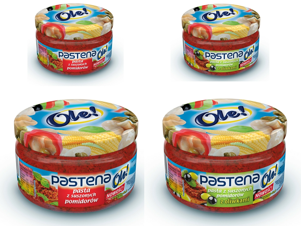 Grillowanie z Pasteną – pastą z suszonych pomidorów z czosnkiem Ole!