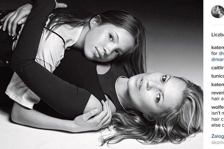 Lila Grace Moss na okładce Vogue