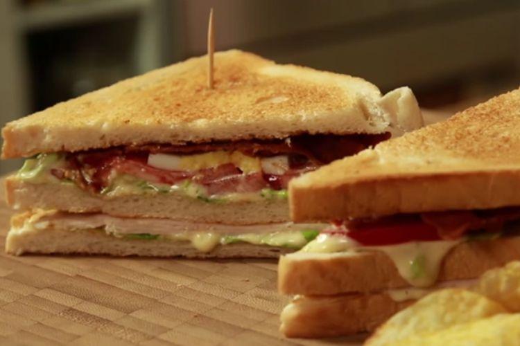 Amerykańska kanapka Club