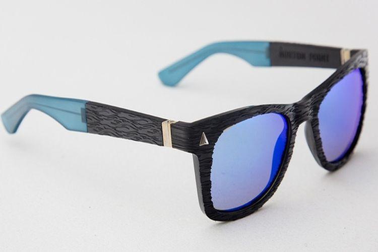 Okulary z morskiego plastiku
