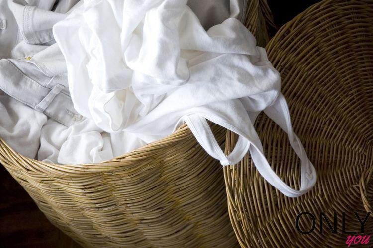 Jak uratować białe ubrania?