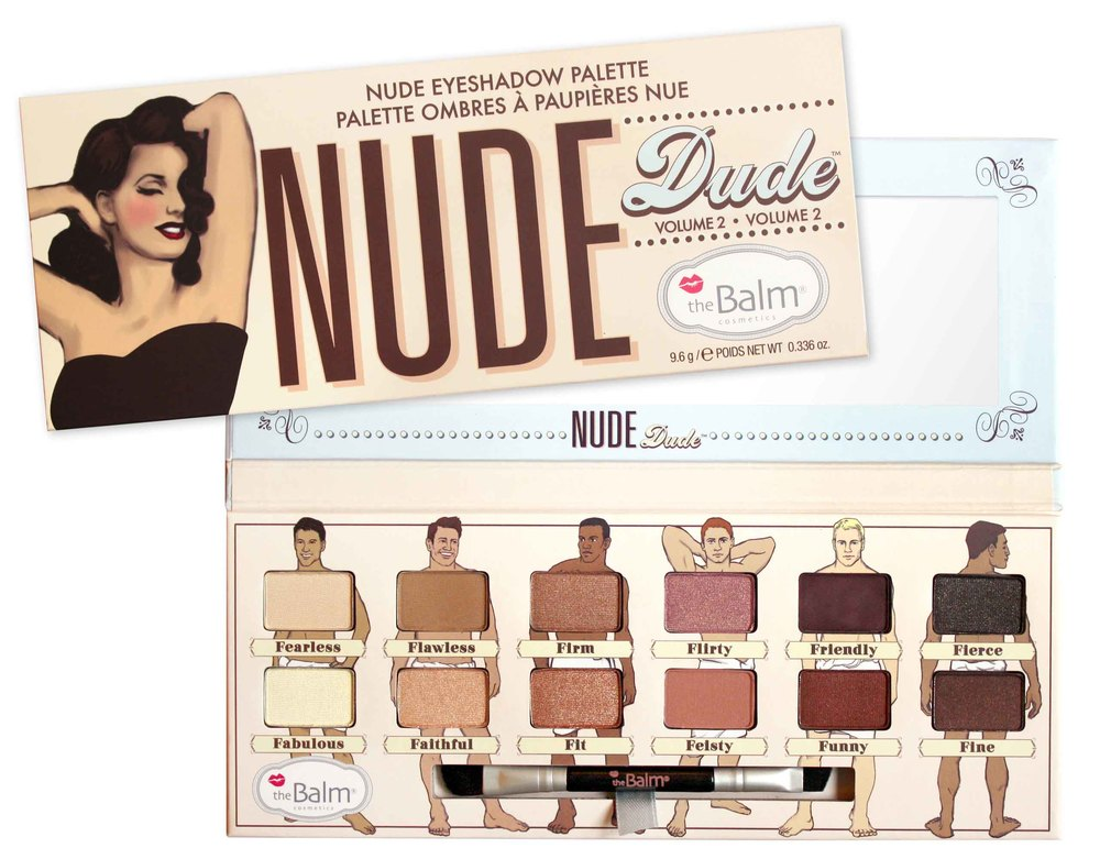 Paleta cieni The Balm Nude Dude