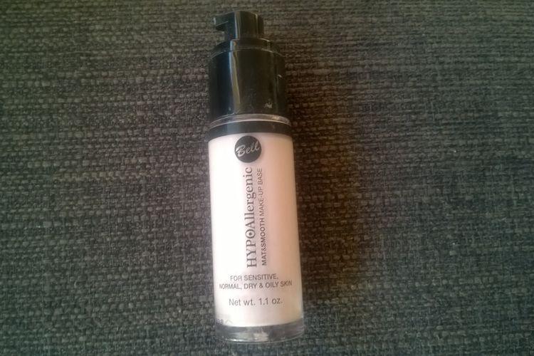 Bell: HYPOAllergenic, Mat & Smooth Make-Up Base (Hypoalergiczna matująco-wygładzająca baza pod makijaż)