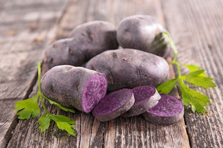 Fioletowe ziemniaki a zdrowie