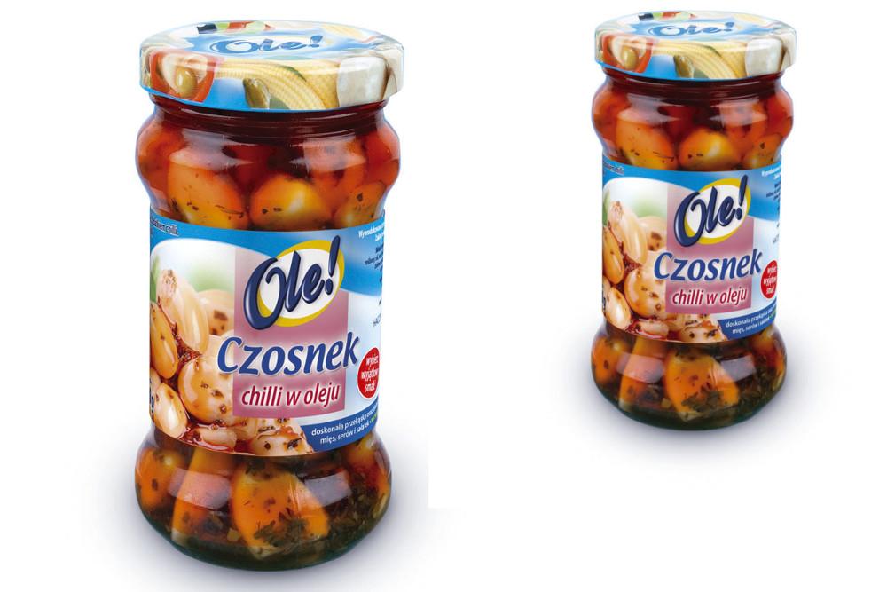 Pomysł na sałatkę z Czosnkiem Chilli w oleju Ole!