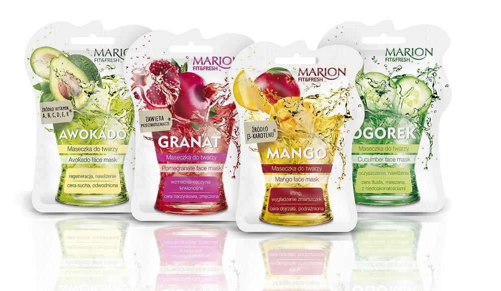 Maseczki Fit&Fresh marki Marion