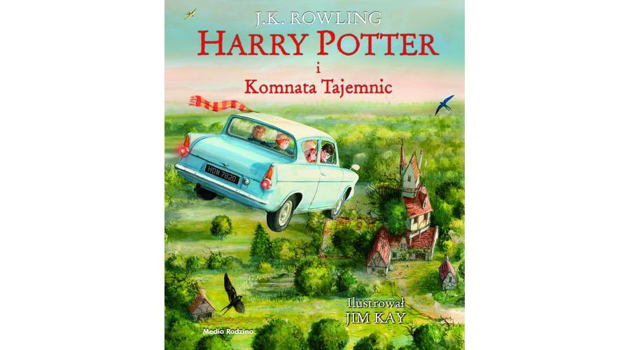 Harry Potter i Komnata Tajemnic – premiera książki