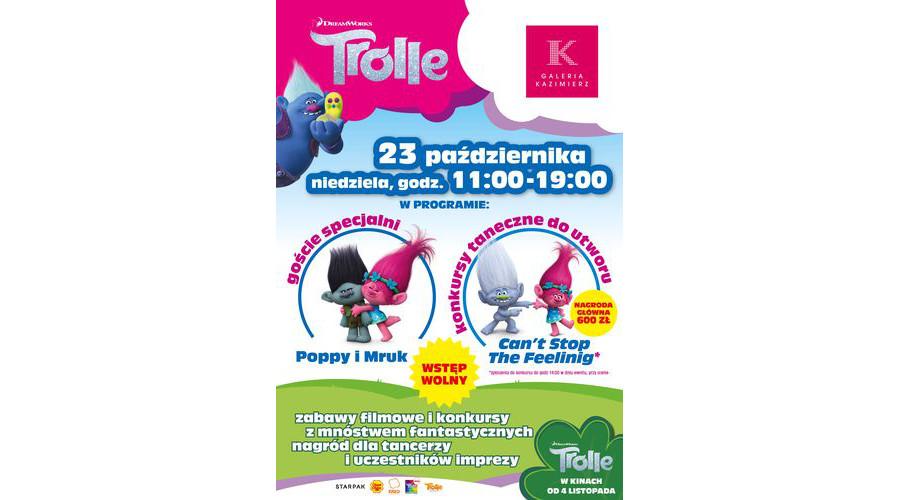 Trolle! Po raz pierwszy w historii. Konkurs Tańca Trolli w kilku miastach Polski.