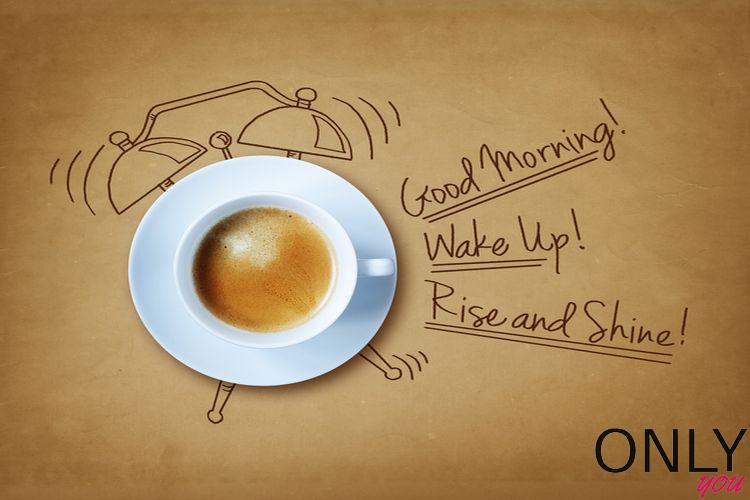 Nie pij kawy rano
