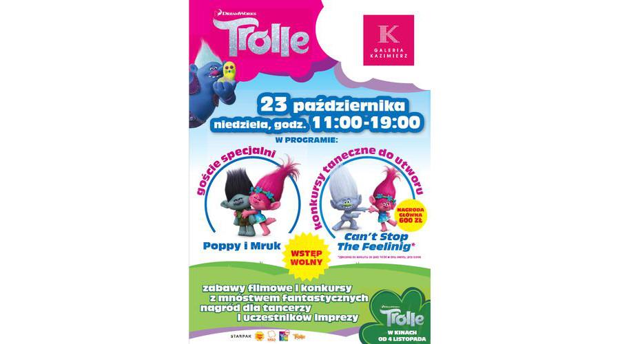 """""""Trolle""""! Po raz pierwszy w historii. Konkurs Tańca Trolli w Krakowie."""