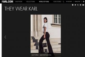 Polska blogerka ambasadorką marki Karla Lagerfelda.