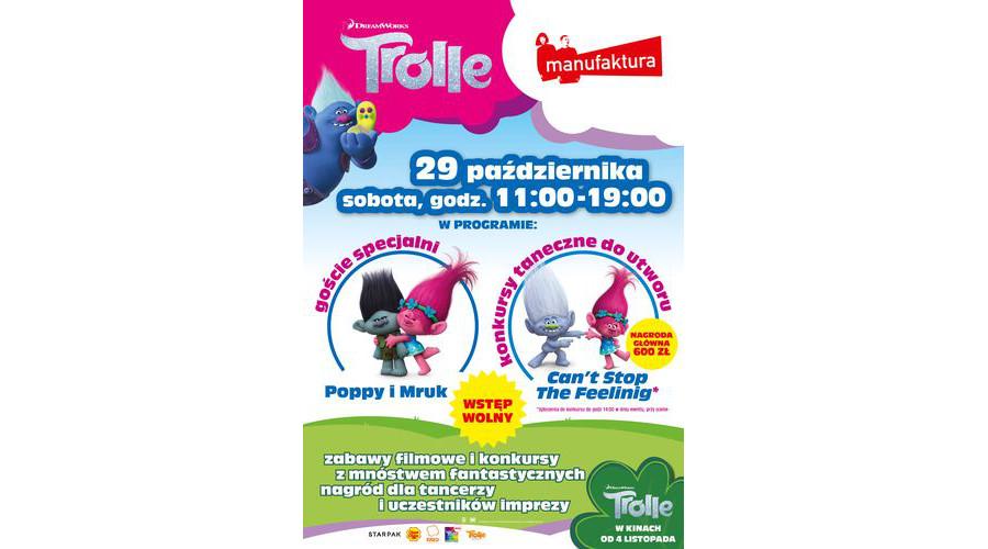 Trolle ! Po raz pierwszy w historii. Konkurs Tańca Trolli w Łodzi.