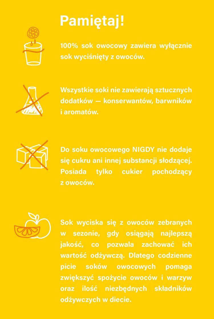 Fakty i mity o sokach