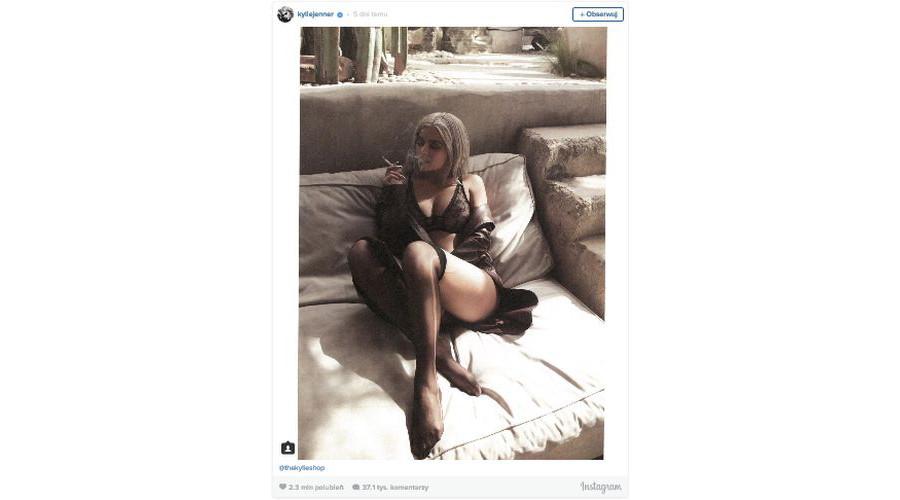 Bielizna od Kylie Jenner