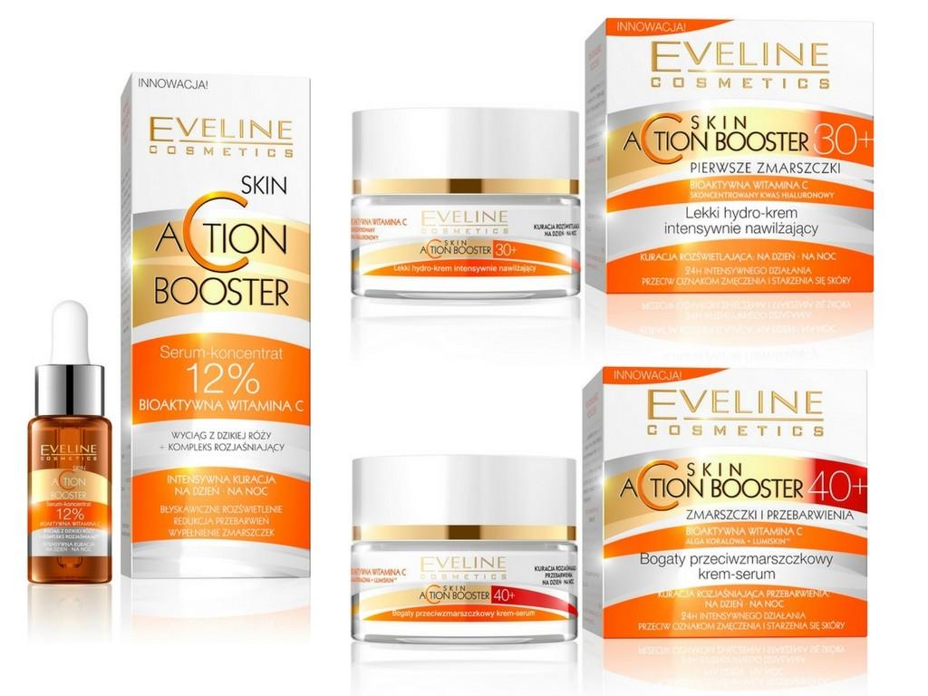 Seria Action Booster Eveline Cosmetics pełne witaminy C