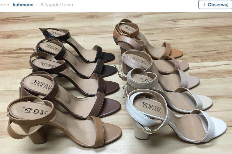 10 cielistych odcieni butów od Kahmune