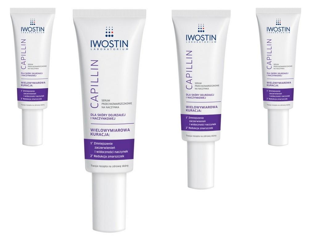 Serum przeciwzmarszczkowe na naczynka Iwostin Capillin®