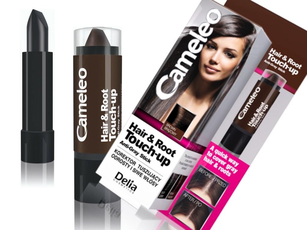 Cameleo korektor tuszujący odrosty i siwe włosy Hair & Root Touch-Up