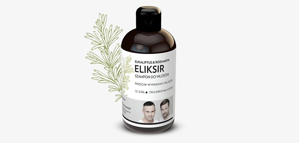 Eliksir myjący Eukaliptus & rozmaryn