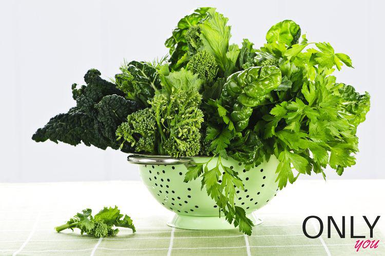 Blanszuj zielone warzywa!
