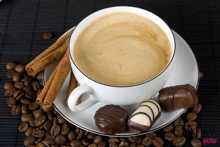 Pij kawę z czekoladą!