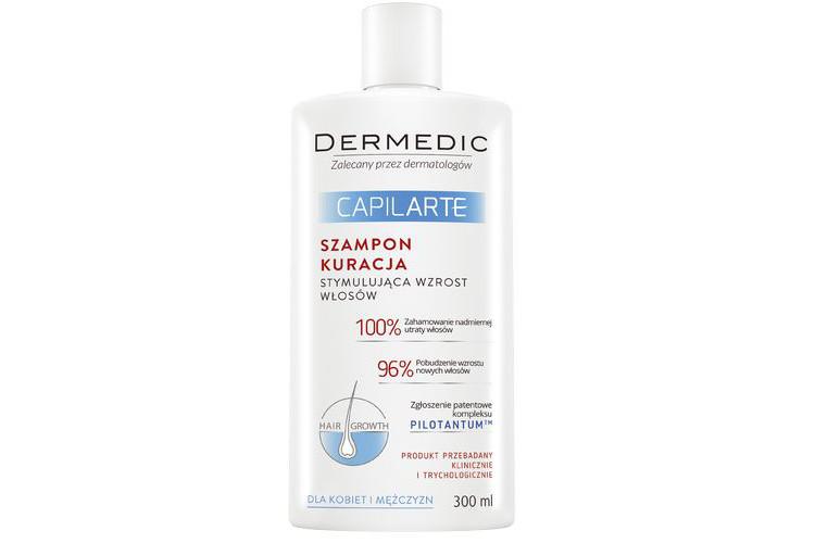Dermedic Capilarte. Szampon kuracja stymulująca wzrost włosów