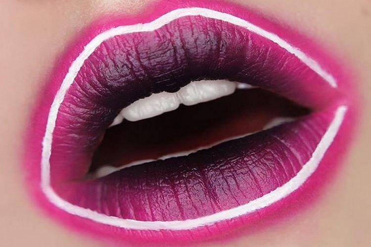Nowe trendy: neonowe usta
