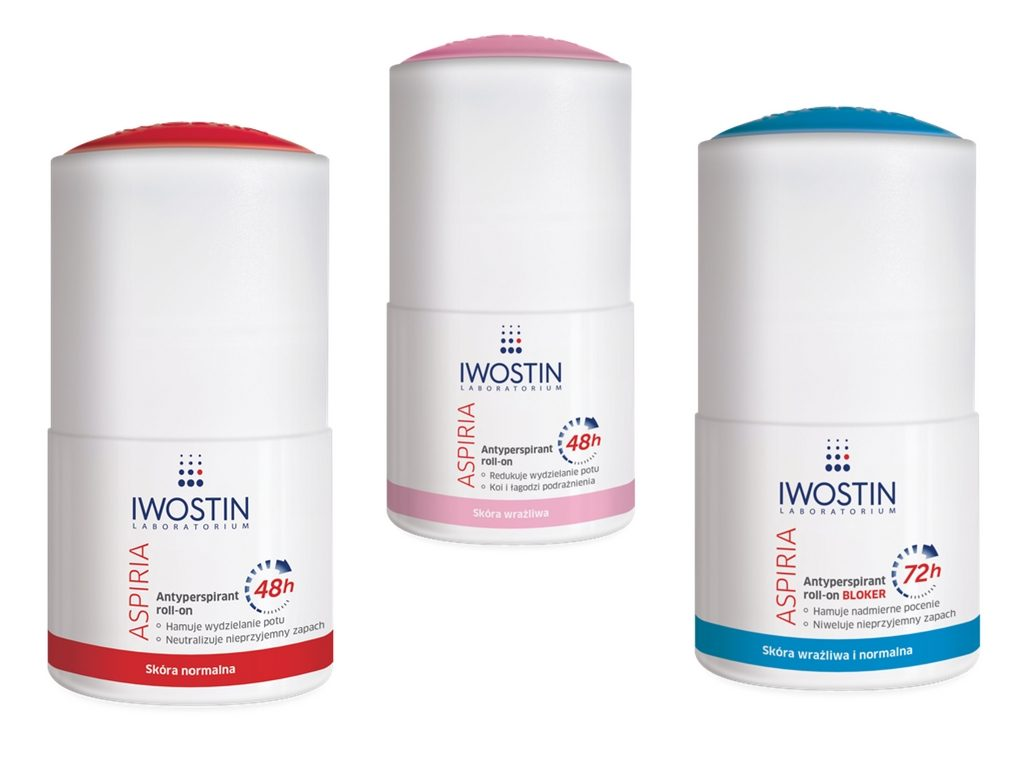 Antyperspirant roll-on Iwostin Aspiria