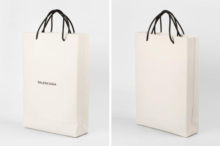 """""""Papierowa"""" torba od Balenciaga"""