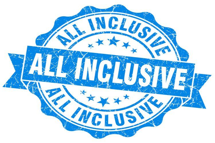 Ile jesz na wakacjach all inclusive
