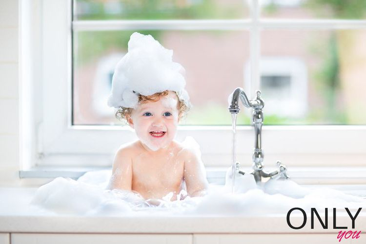 5 zasad kąpieli dziecka