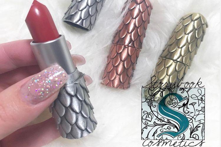 Smocza szminka od Storybook Cosmetics
