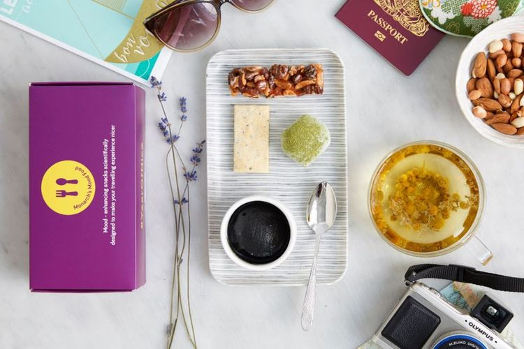 Czy posiłek może rozładować stres w samolocie