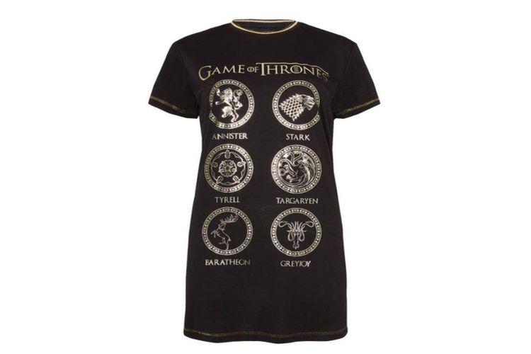 Piżamy dla fanów Gry o Tron