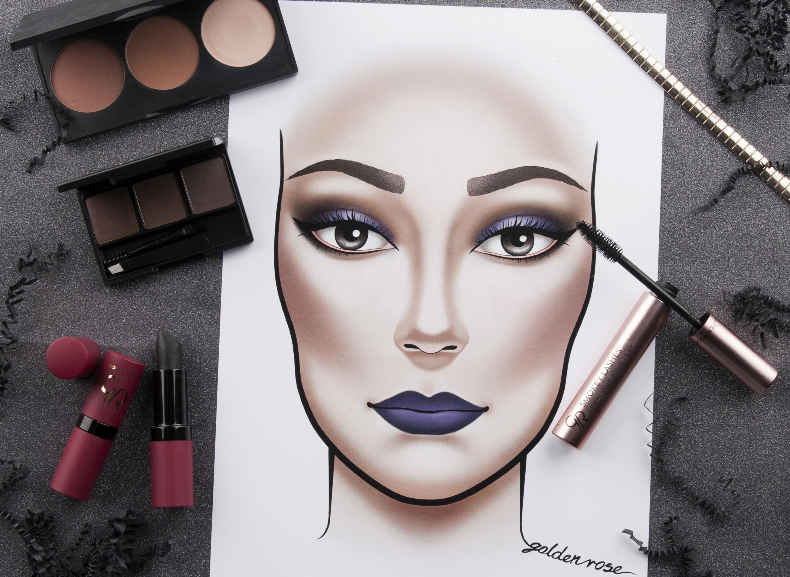 Modny makijaż na Halloween