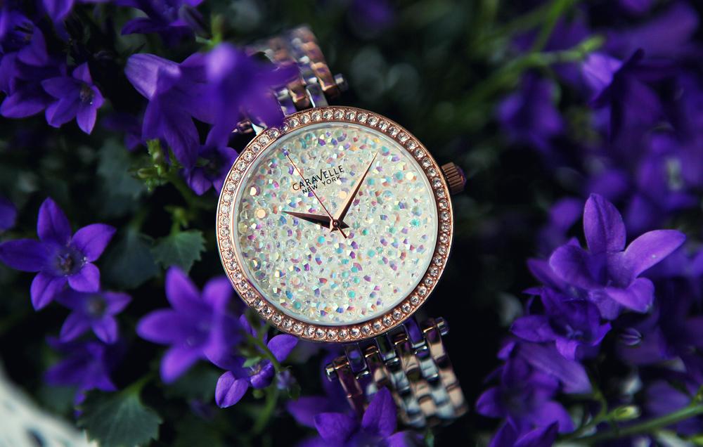 Kryształowa kolekcja zegarków Caravelle