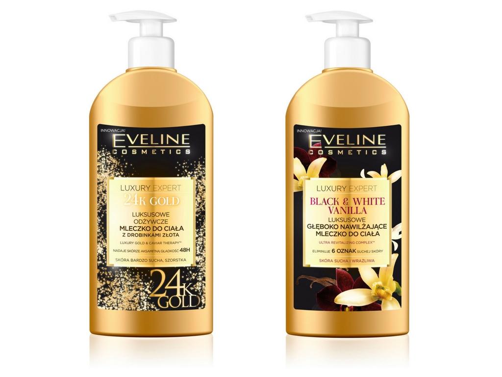 Mleczka do ciała od Eveline Cosmetics