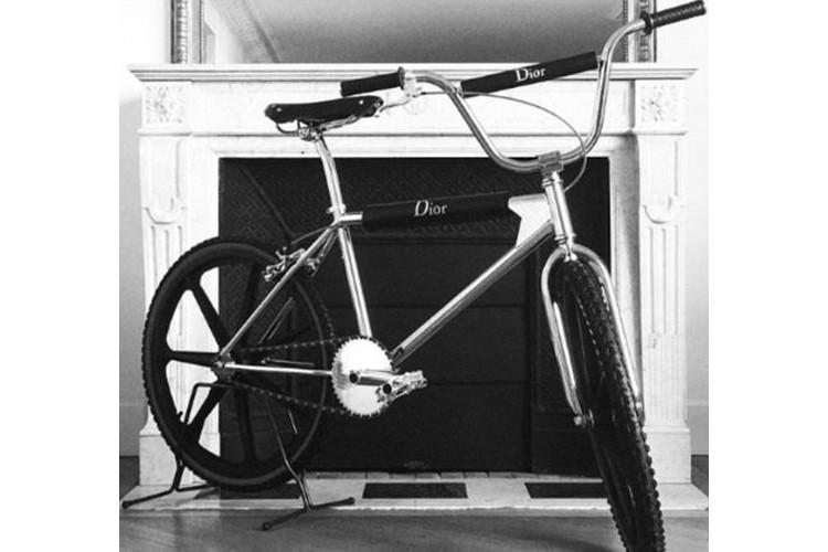 Luksusowy rower od Dior