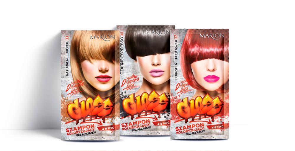 Marion Gloss szampon koloryzujący bez amoniaku