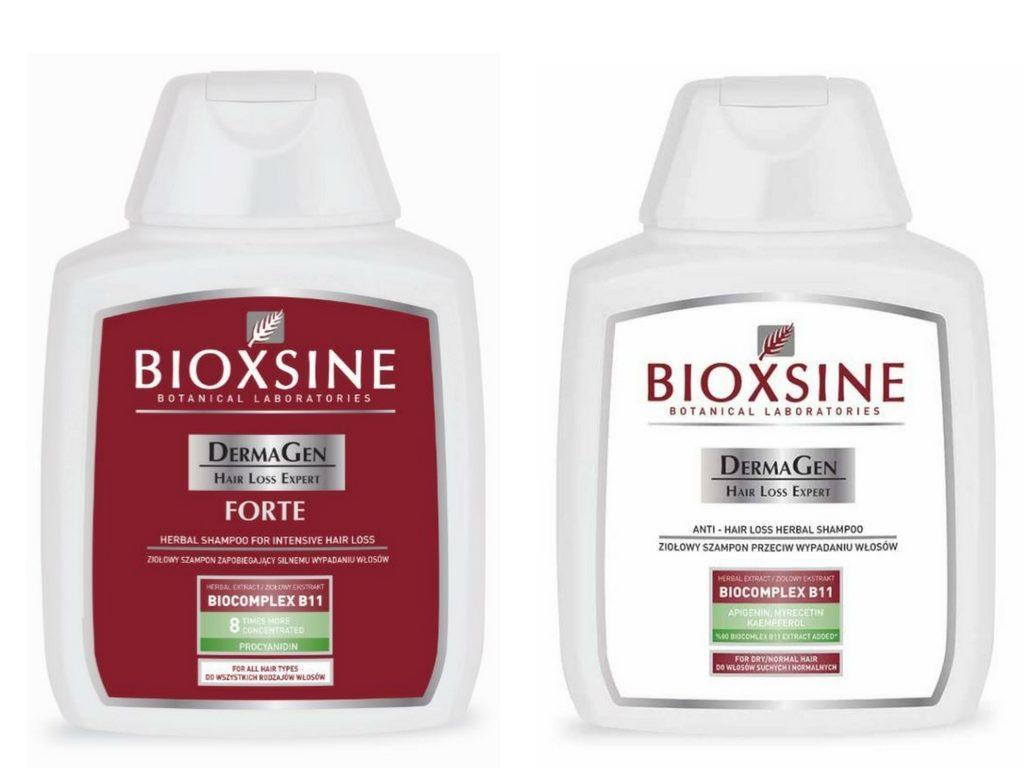 Szampony do włosów Bioxsine na wiosnę