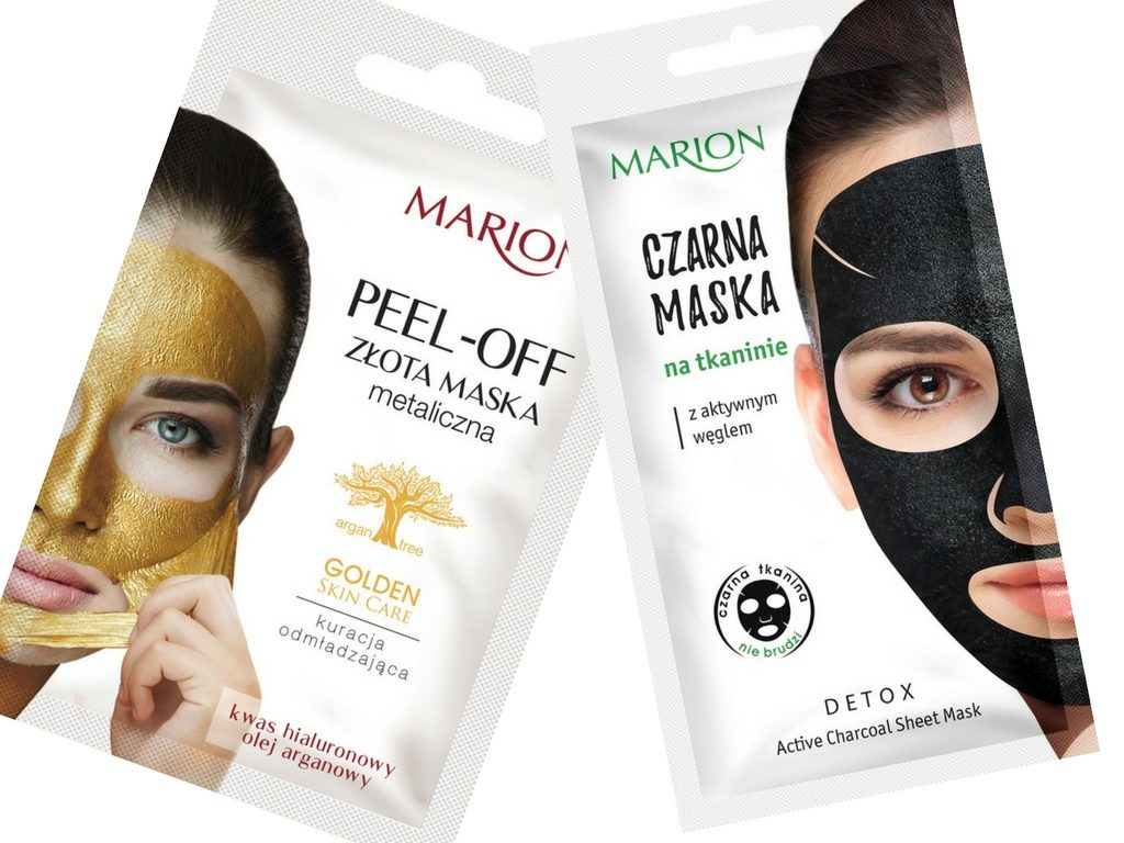 Maski od Marion – peel-of i detox