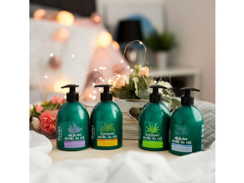 Pielęgnacyjne mydła do rąk – Buña