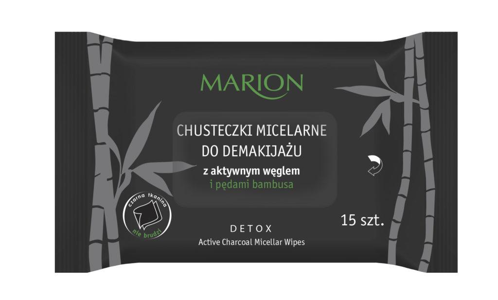 Chusteczki micelarne Detox
