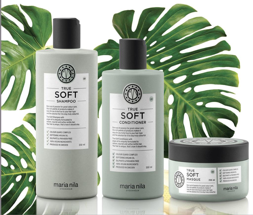 Maria Nila TRUE SOFT – wegańskie kosmetyki do włosów
