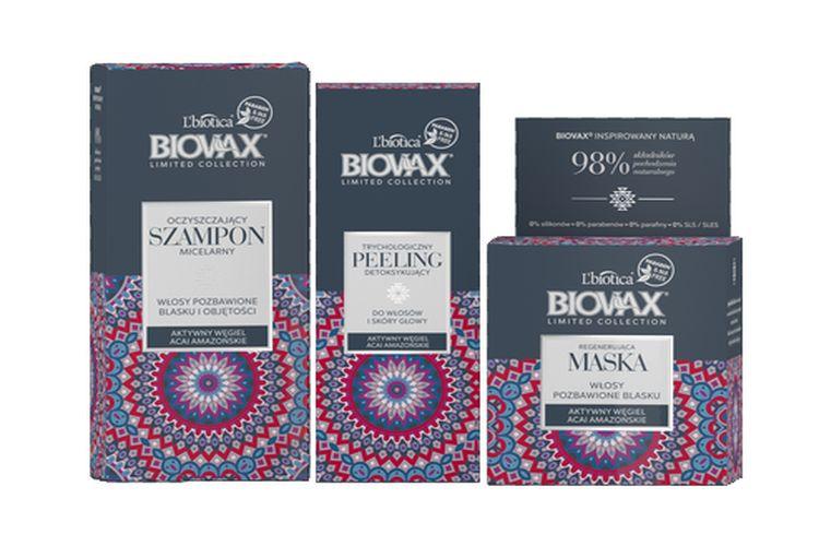 NOWOŚĆ: BIOVAX Limited Collection Węgiel Aktywny & Acai Amazońskie