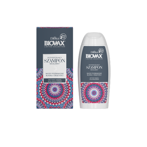 BIOVAX Limited Collection Węgiel Aktywny & Acai Amazońskie