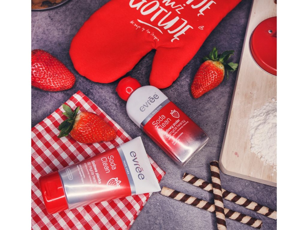 Oczyszczanie skóry z Soda Clean evrēe