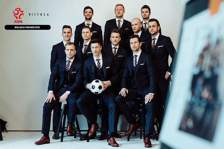Formalny strój Reprezentacji Polski w piłkę nożną na Mistrzostwa Świata 2018 od Vistula!